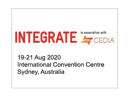 Integrate(AV and Integration trade show in Australia)